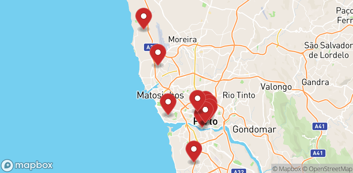 Motorcycle and scooter rentals in Porto