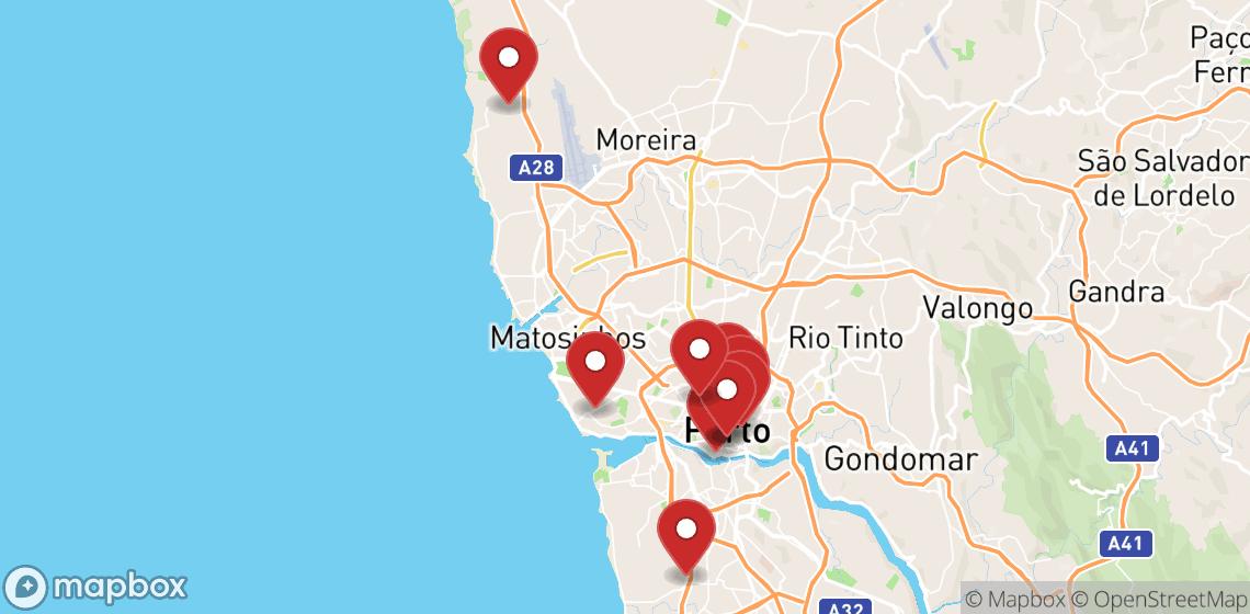 Verhuur van motorfietsen en scooters in Porto