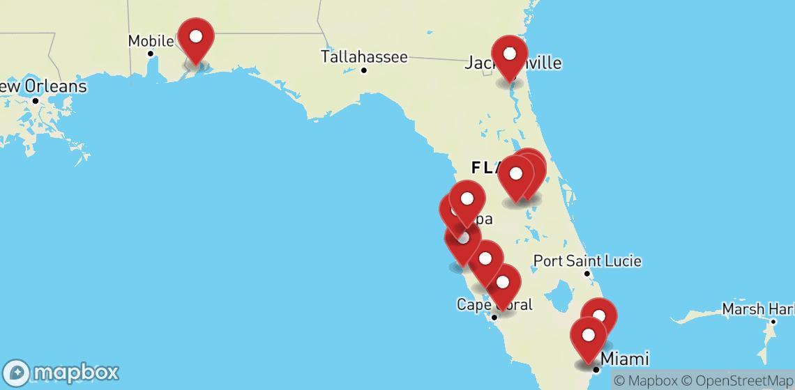 השכרת אופנועים וקטנועים ב Florida