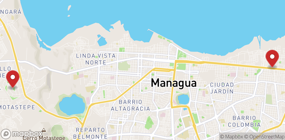 Motorcycle and scooter rentals in Managua