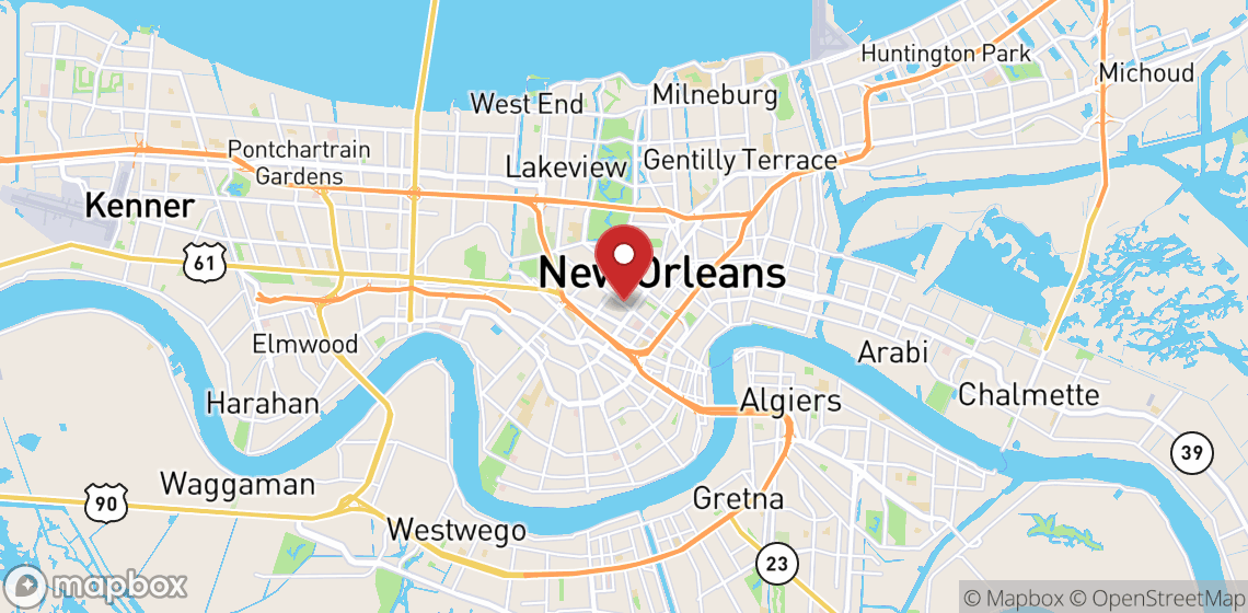 Motorcycle and scooter rentals in New Orleans