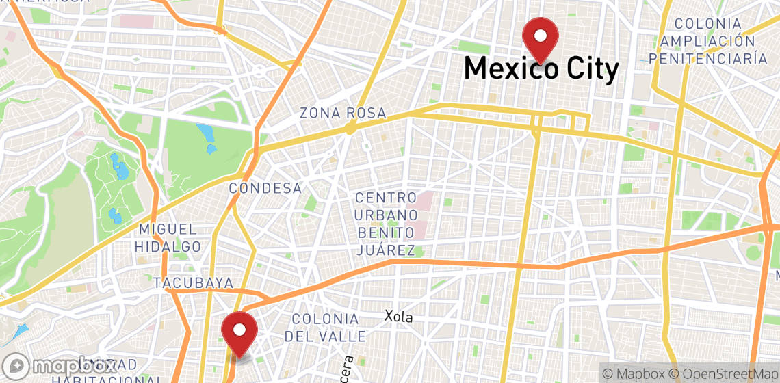 Location de motos et scooters à Ciudad de Mexico