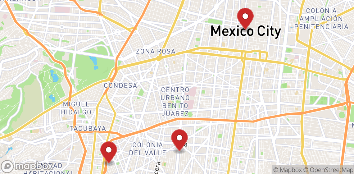 Motorcycle and scooter rentals in Ciudad de Mexico
