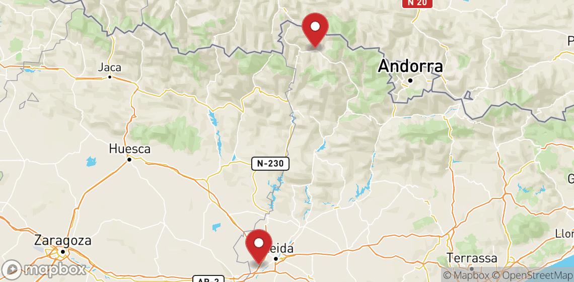 Verhuur van motorfietsen en scooters in Lleida