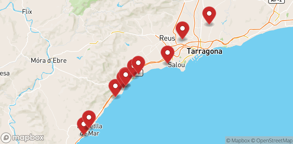 Motorcycle and scooter rentals in Tarragona