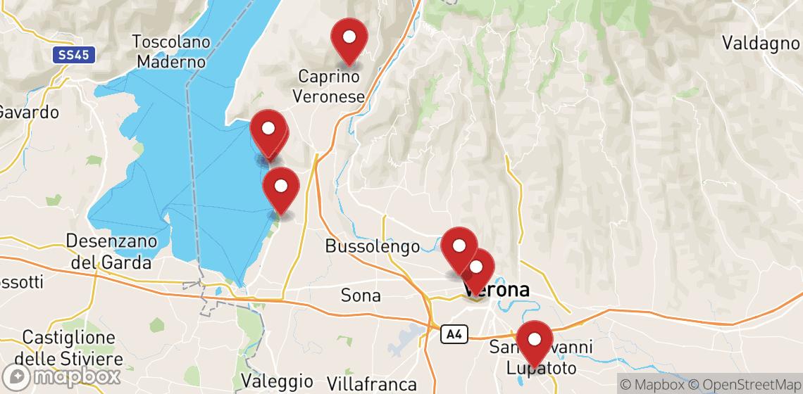 Motorcykel- och skoteruthyrning i Verona