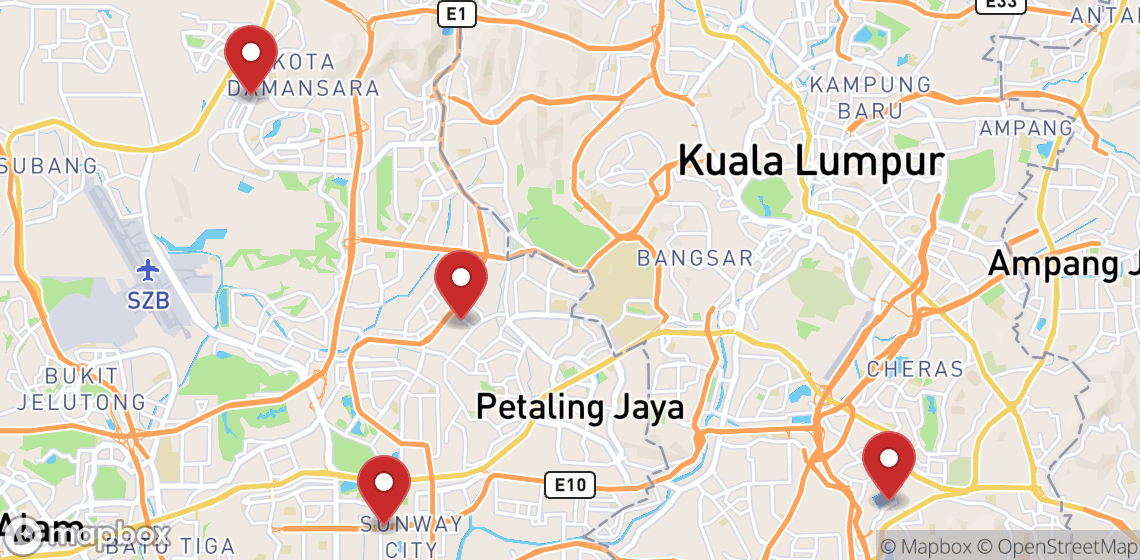 Verhuur van motorfietsen en scooters in Kuala Lumpur