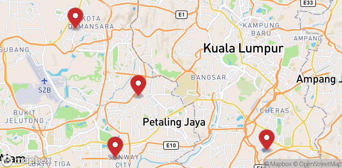 Motorsykkel- og scooterutleie i Kuala Lumpur