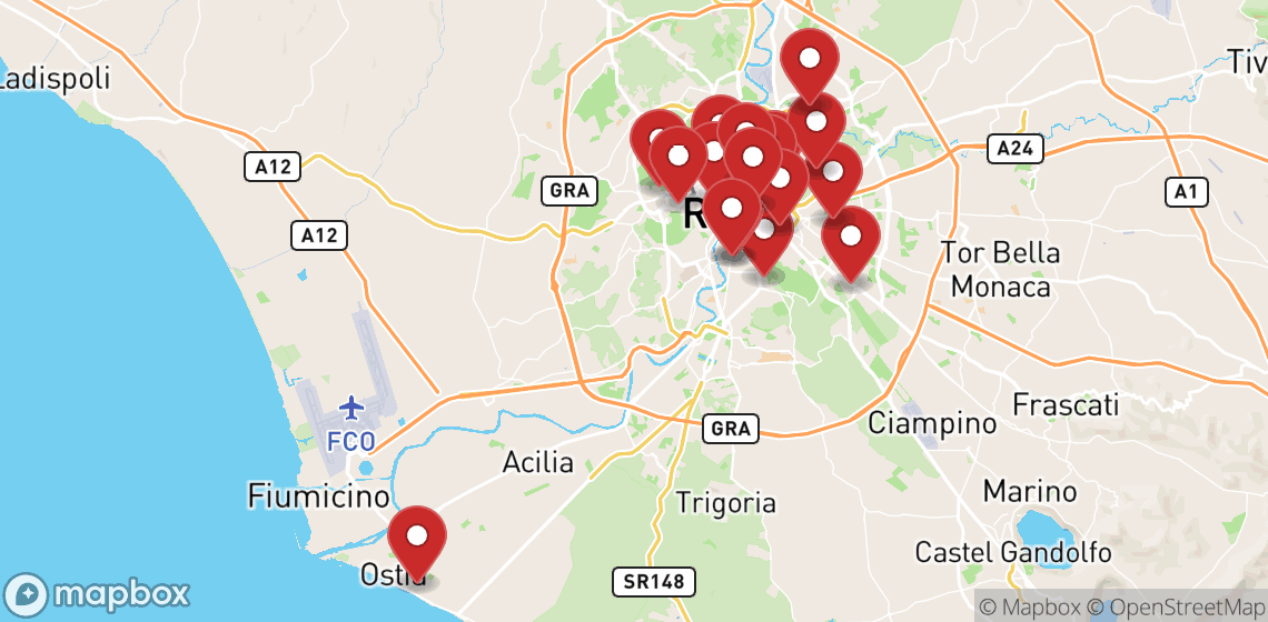 Location de motos et scooters à Rome
