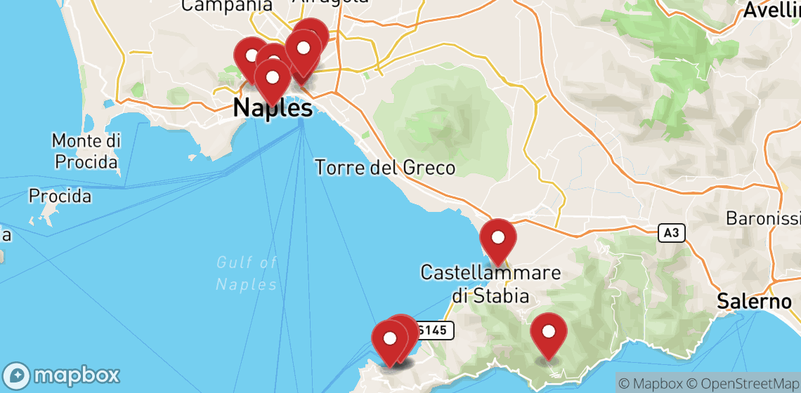 Motorcycle and scooter rentals in Napoli