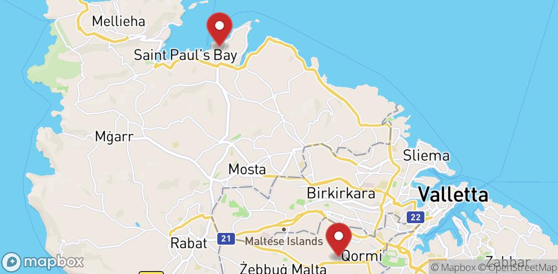 השכרת אופנועים וקטנועים ב Malta