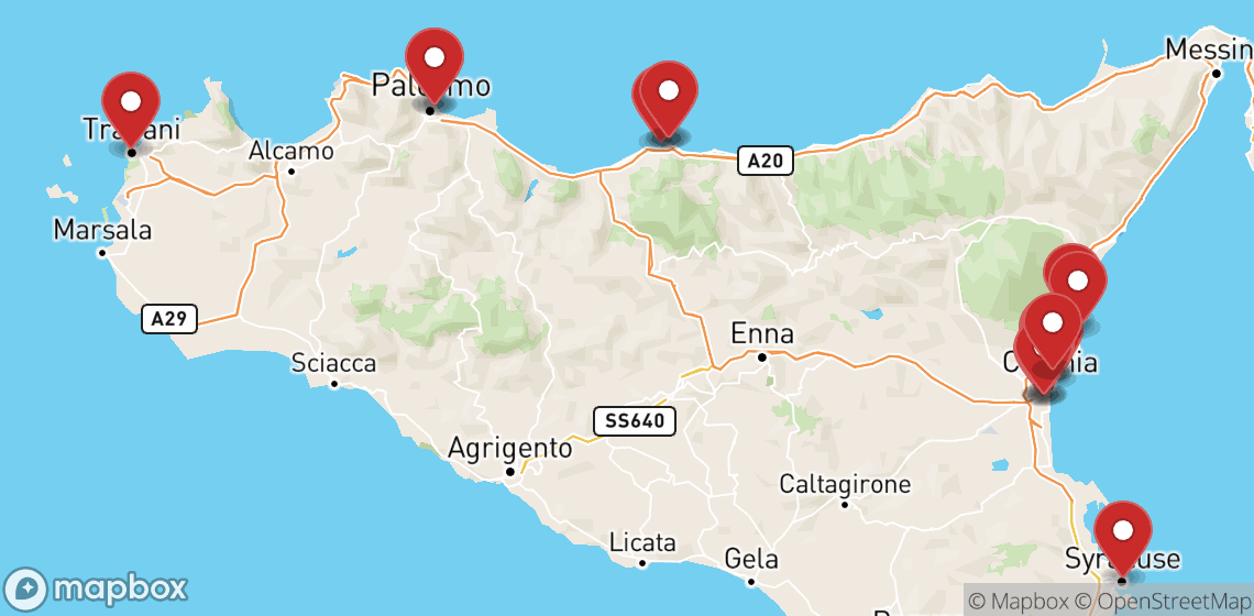Motorcycle and scooter rentals in Palermo