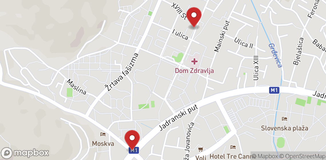 Location de motos et scooters à Budva