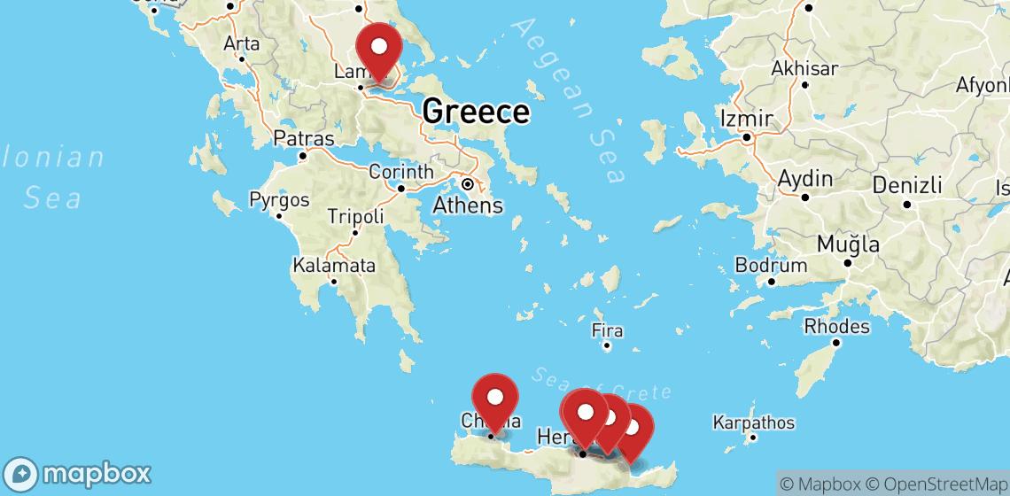 Location de motos et scooters à Crete