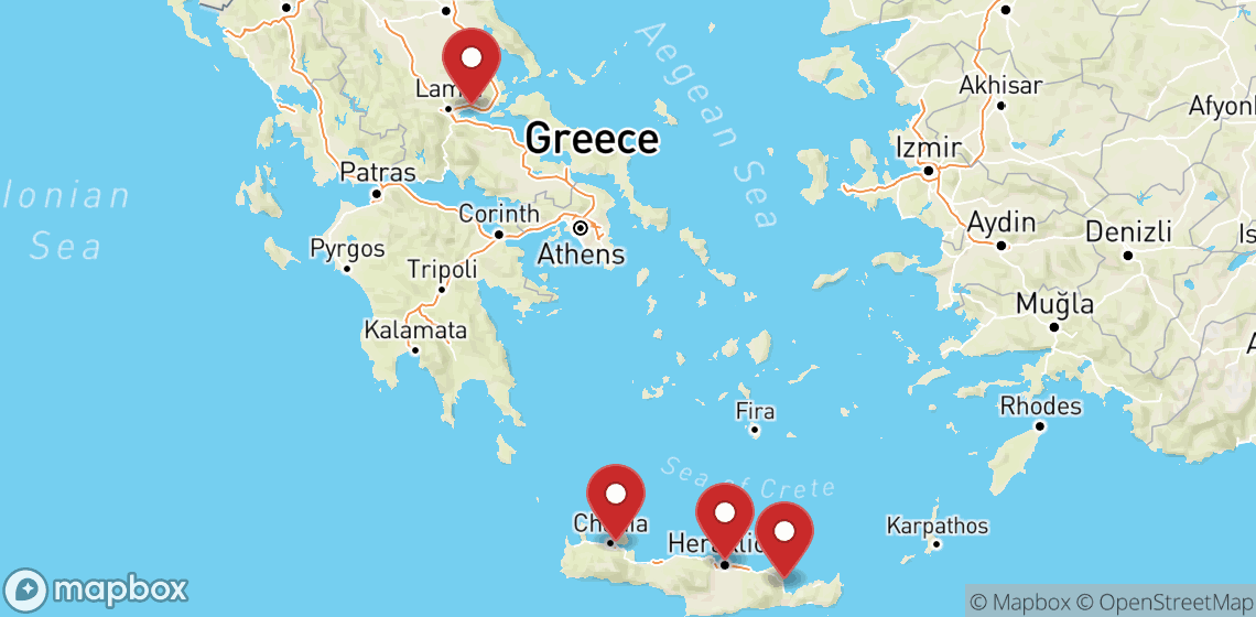 Motorcycle and scooter rentals in Crete