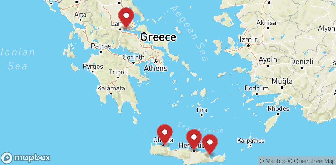 Alquiler de motos y scooters en Crete