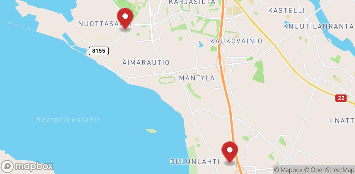 Lloguers de motos i scooters a Oulu