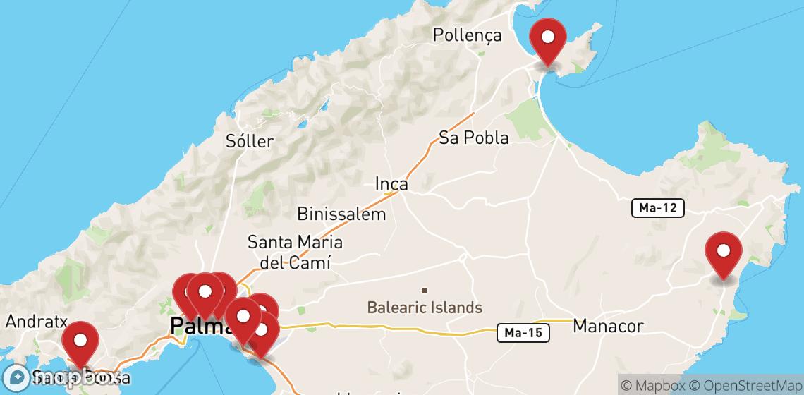 摩托车租车: Majorca