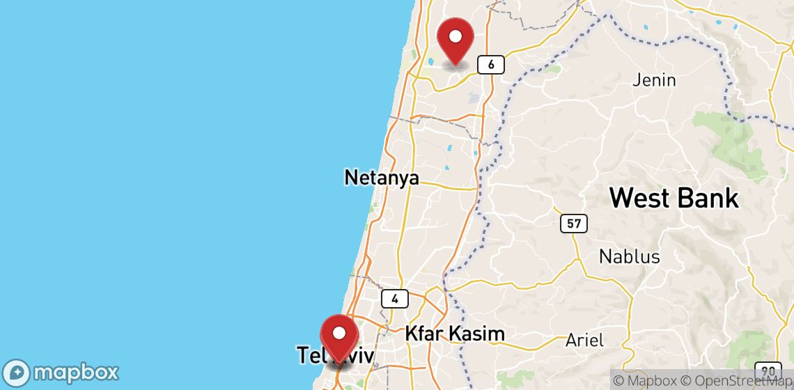 Location de motos et scooters à Tel Aviv