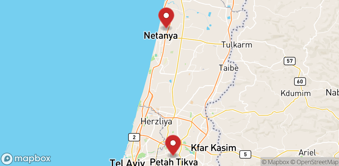Location de motos et scooters à Netanya