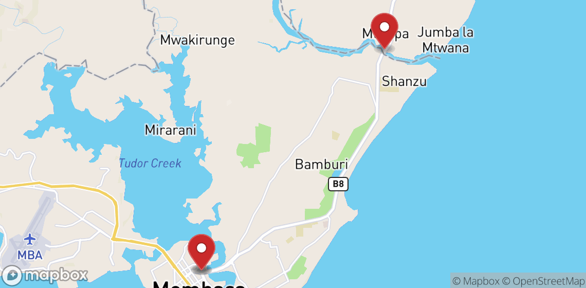 Location de motos et scooters à Mombasa