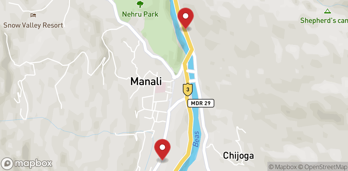 Motorcycle and scooter rentals in Manali