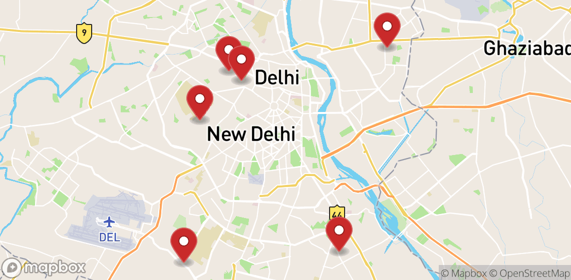Motorcycle and scooter rentals in New Delhi
