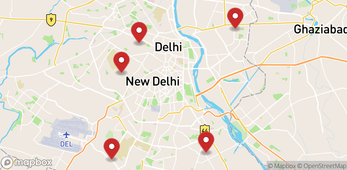 Location de motos et scooters à New Delhi