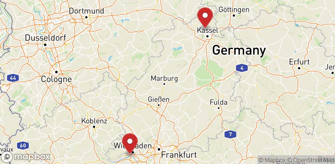 Alugueres de motas e scooters em Hessen