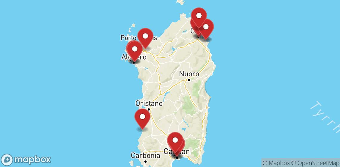 Прокат мотоциклов и скутеров в Sardegna