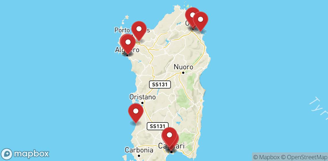 Noleggio moto e scooter Sardegna
