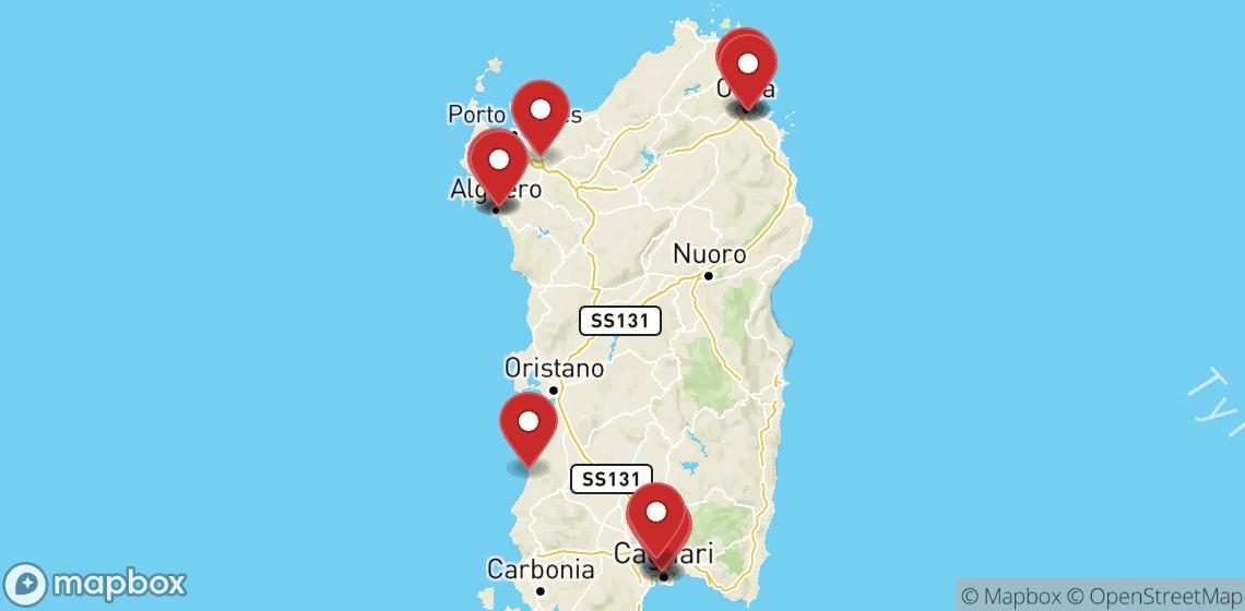 Motorcykel- och skoteruthyrning i Sardegna
