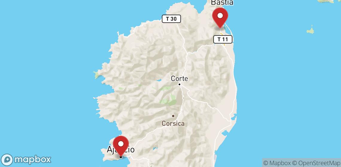 Motorcykel- och skoteruthyrning i Corse