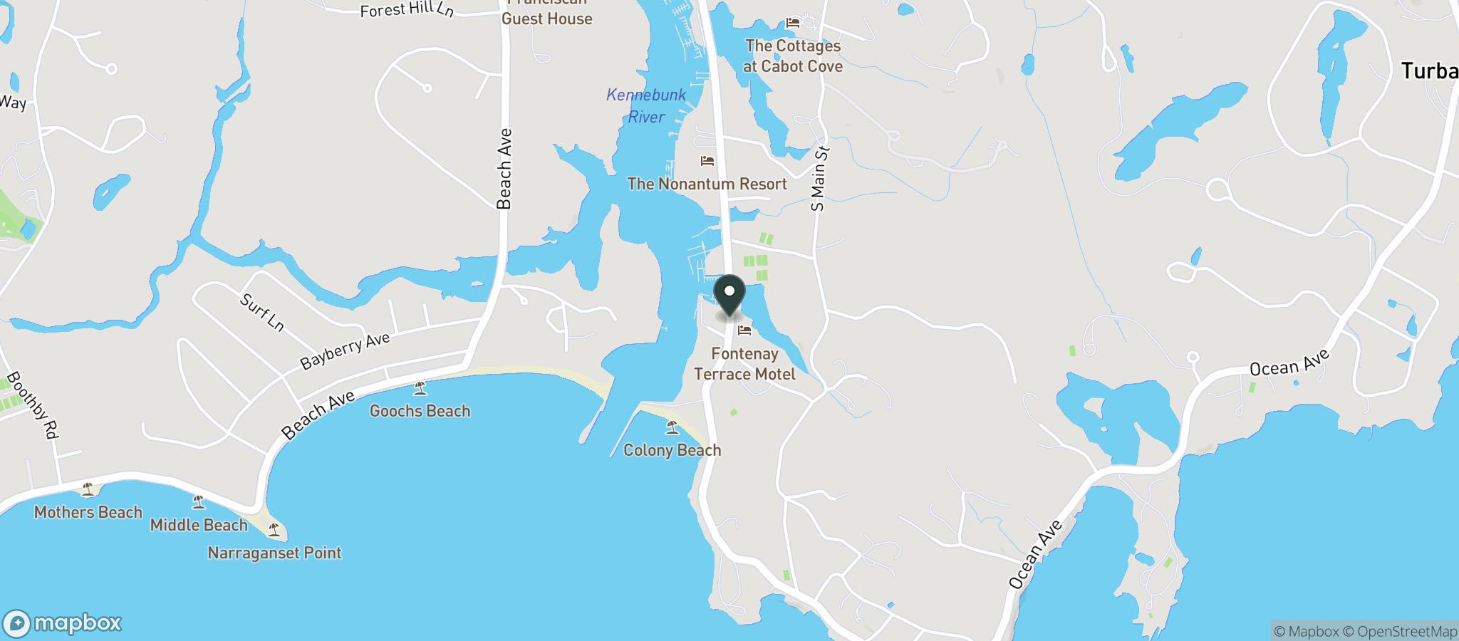 Map at 43.34906,-70.472398