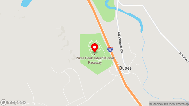 Google Map of 16650 Midway Ranch Road, Fountain, CO 80817
