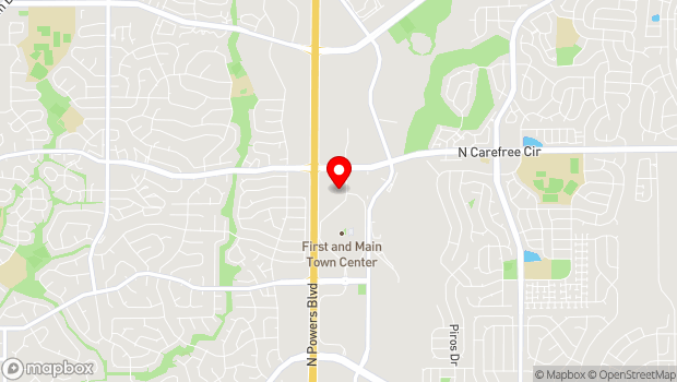 Google Map of 3650 New Center Point, Colorado Springs, CO 80922