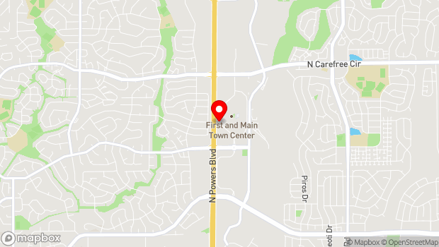Google Map of 3237 N New Center Point, Colorado Springs, CO 80922