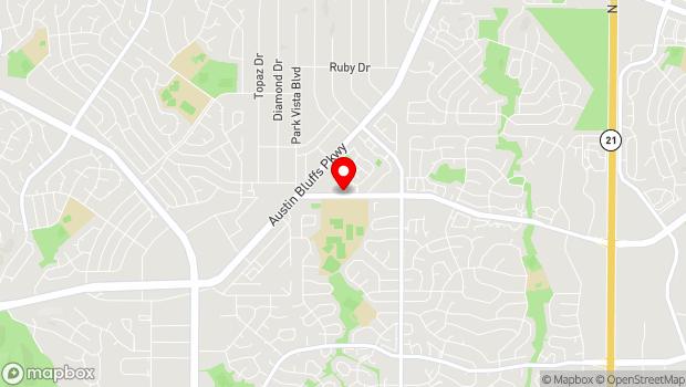 Google Map of 4460 Barnes Road, Colorado Springs, CO 80917