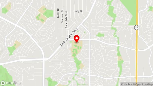 Google Map of 4515 Barnes Road, Colorado Springs, CO 80917