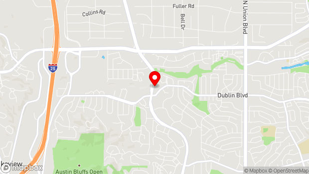 Google Map of 6545 N Academy Blvd, Colorado Springs, CO 80918