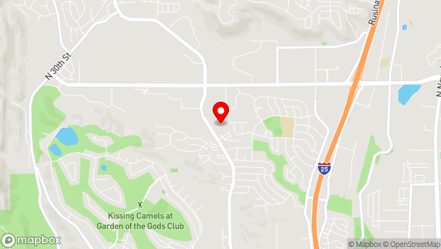 Google Map of 4153 Centennial Blvd, Colorado Springs, CO 80907