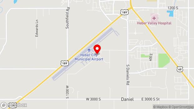 Google Map of 630 Airport Rd, Heber City, UT 84032