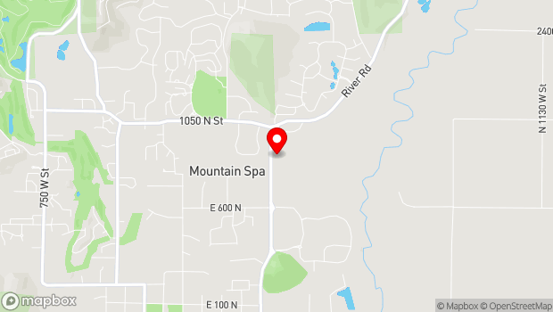 Google Map of 920 River Road, Midway, UT 84049