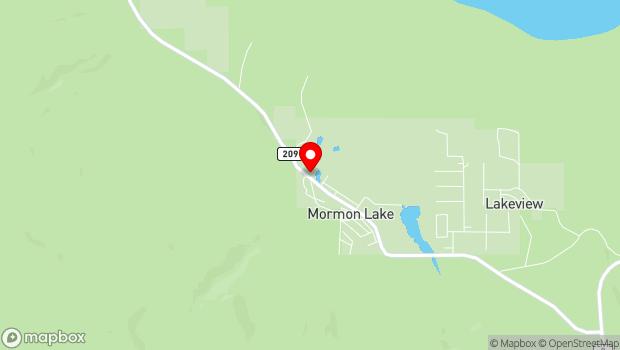 Google Map of 1991 S. Mormon Lake Road, Mormon Lake, AZ 86038