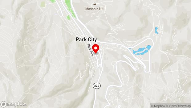 Google Map of 328 Main Street, Park City, UT 84060