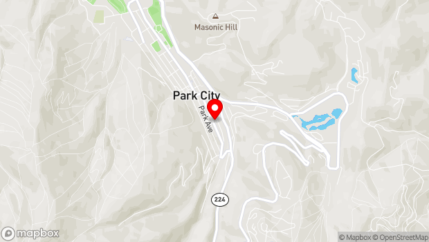 Google Map of 408 Main Street, Park City, UT 84060