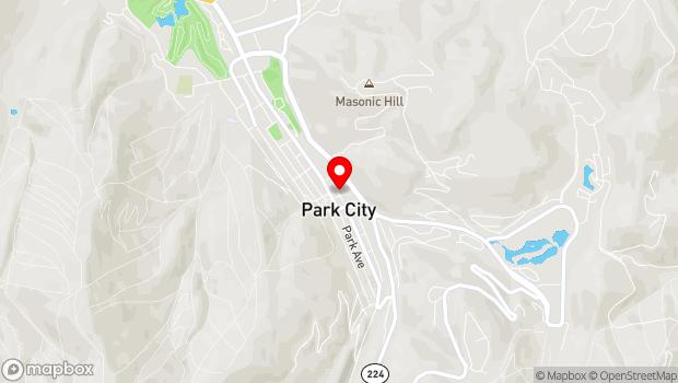 Google Map of 738 Main St, Park City, UT 84060