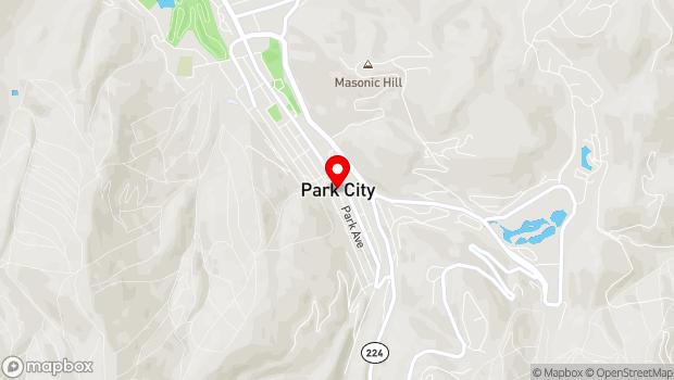 Google Map of 333 Historic Main Street, Park City, UT 84060