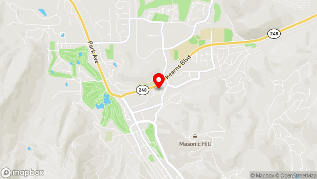 Google Map of 1251 Kearns Blvd, Park City, UT 84060