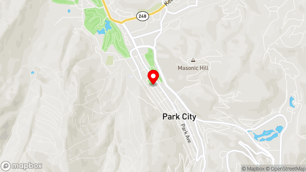 Google Map of 1255 Park Avenue, Park City, UT 84060
